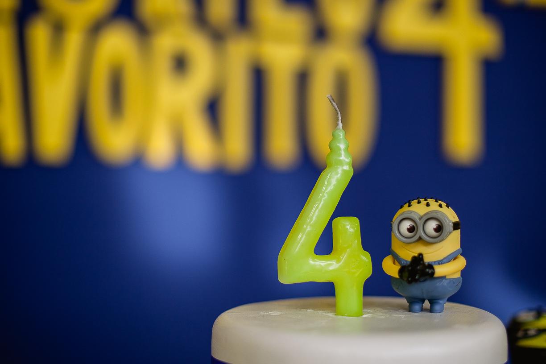 Aniversário 4 anos Murilo